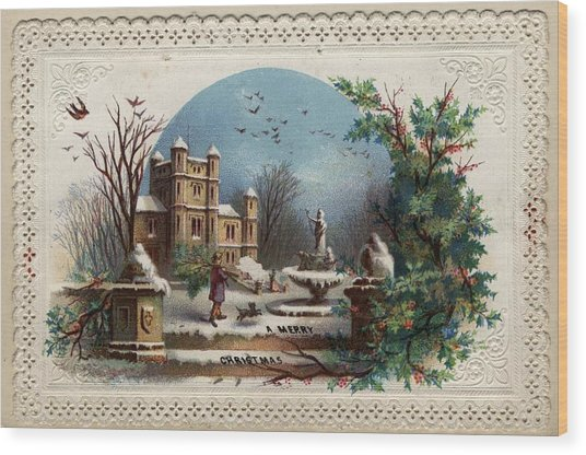 Collecting Holly Wood Print by Hulton Archive