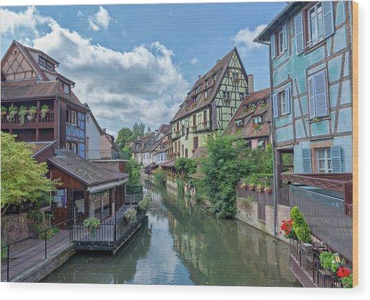 Colmar In France Wood Print
