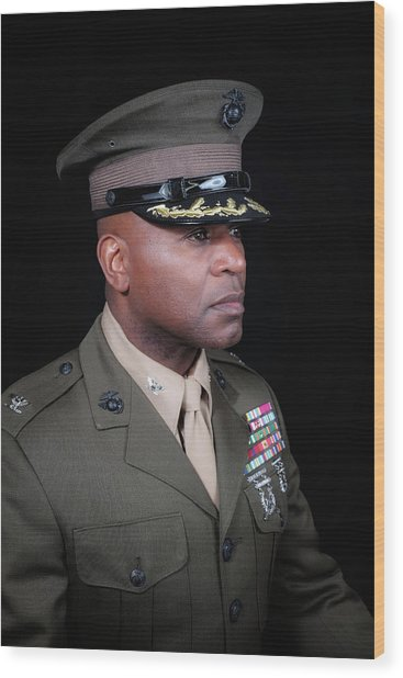 Wood Print featuring the photograph Colonel Trimble 1 by Al Harden