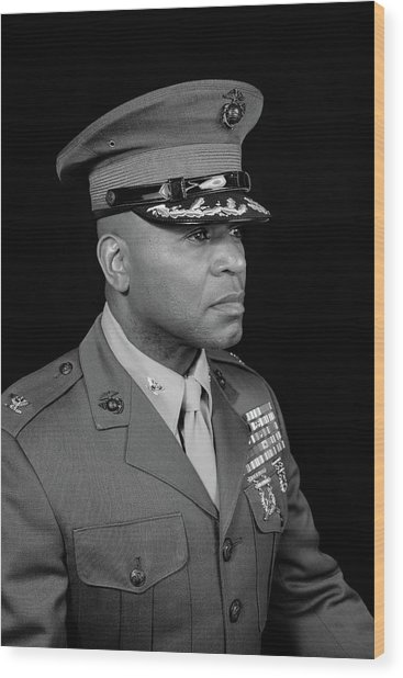 Wood Print featuring the photograph Colonel Trimble by Al Harden