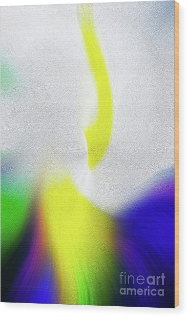 Color Infusion Wood Print