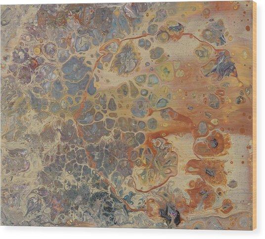 Copper Cape Wood Print