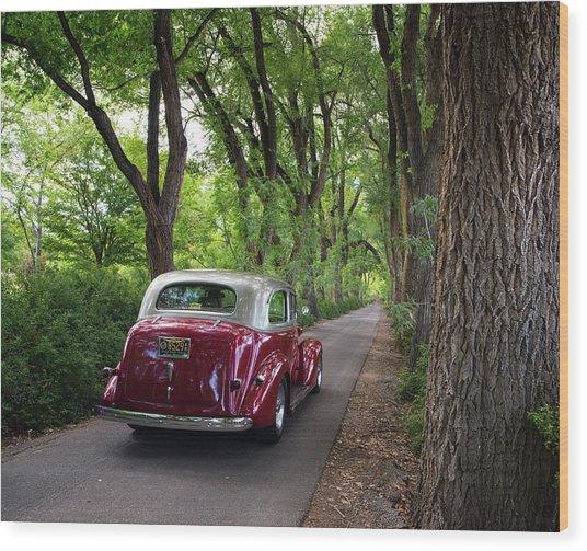 Cottonwood Classic Wood Print