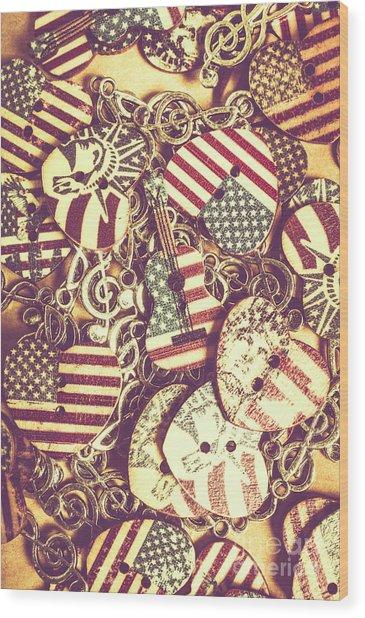 Country Love Wood Print