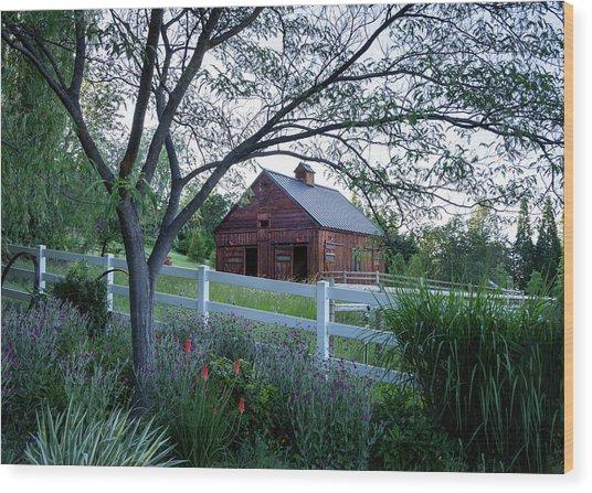 Country Memories Wood Print