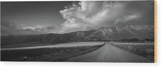 D0557 - Tulbagh Landscape Wood Print