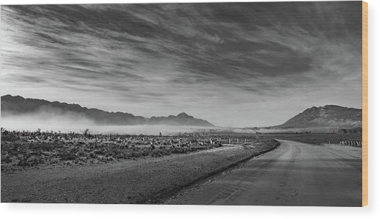D1101 - Tulbagh Landscape Wood Print