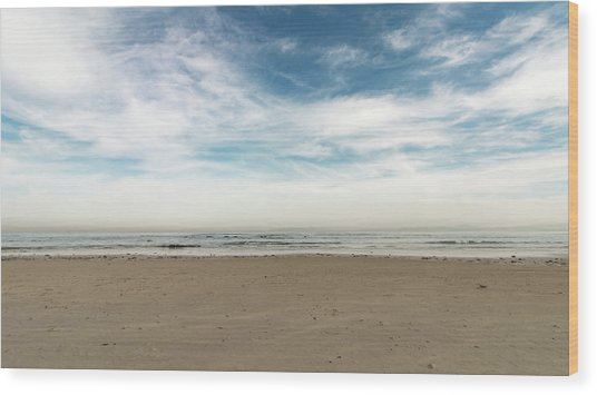 D1371 - Seascape Wood Print
