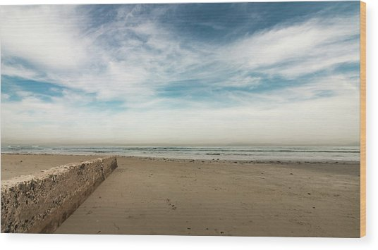 D1373 - Seascape Wood Print
