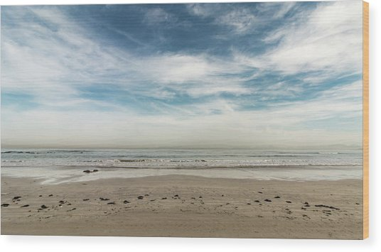 D1375 - Seascape Wood Print