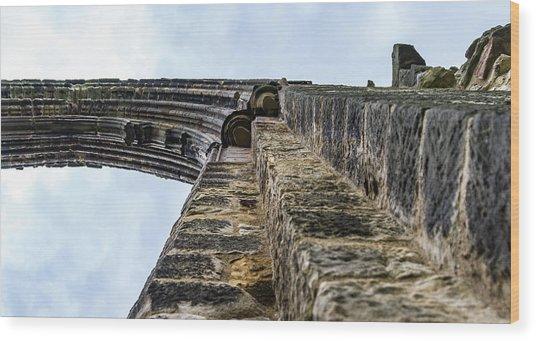 Dale Abbey Wood Print