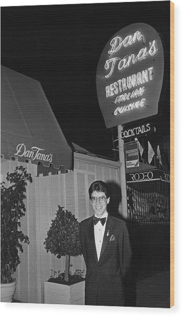 Dan Tanas Los Angeles Restaurant To The Wood Print by George Rose