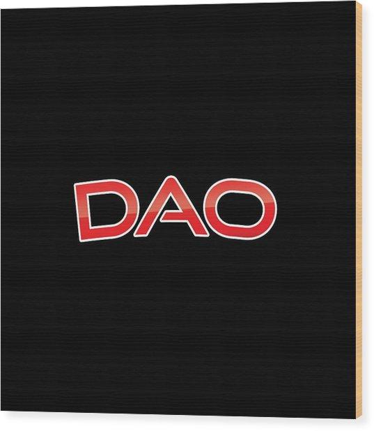 Dao Wood Print