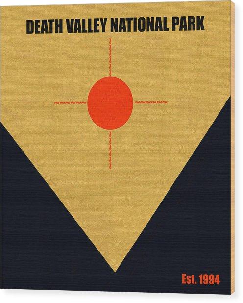 Death Valley N. P. M Series Wood Print
