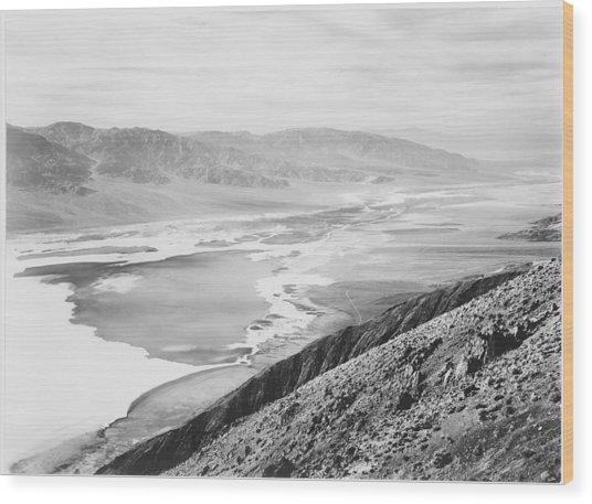 Death Valley National Monument Wood Print