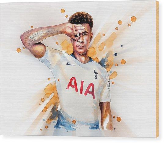 Dele Alli, Tottenham Hotspur Wood Print
