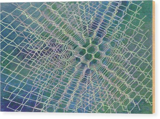 Diamond Wood Print