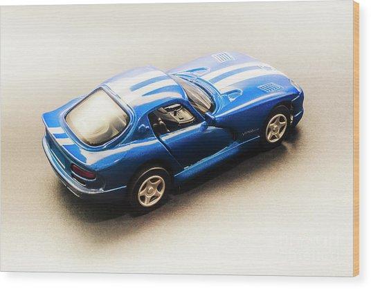 Dodge Viper Gts Wood Print