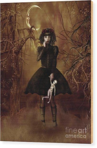 Dolly Broke Wood Print