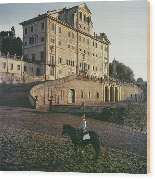 Don Giovanni Wood Print by Slim Aarons