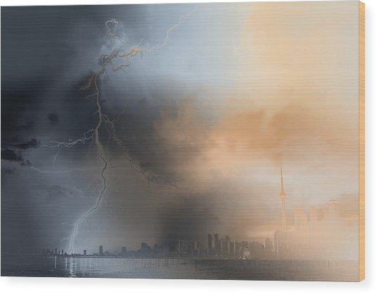 Doomsday Wood Print