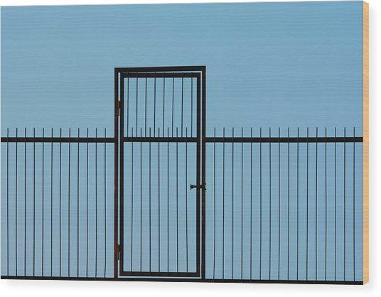 Door To The Sky Wood Print
