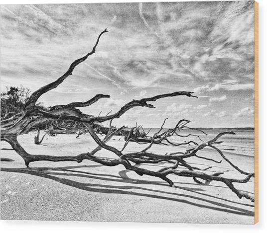 Drift Off Wood Print