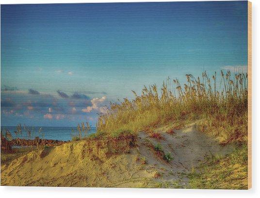 Storm And Sunshine Wood Print