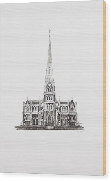 Dutch Reformed Church Graaff-reinet Wood Print