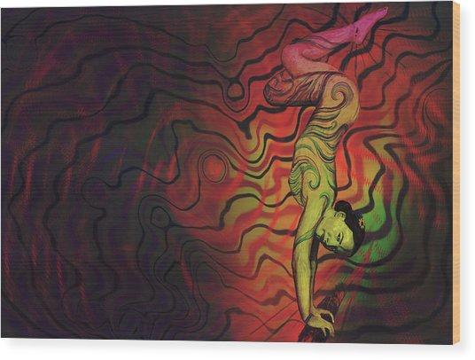 Dynamic Color Wood Print