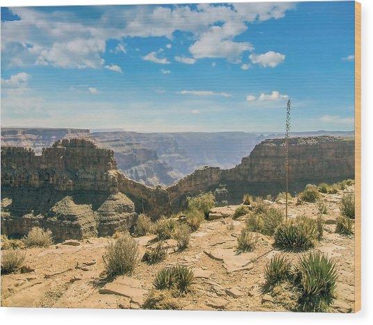 Eagle Rock, Grand Canyon. Wood Print
