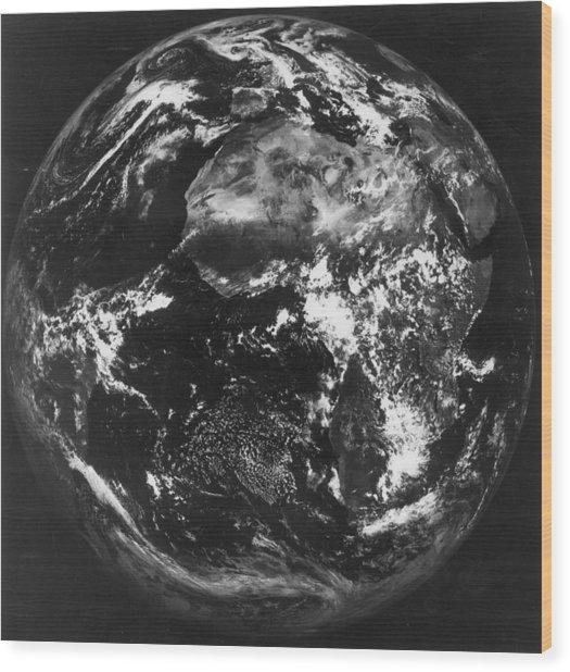 Earth Wood Print by Keystone