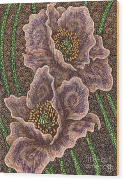 Earth Song 1 Wood Print