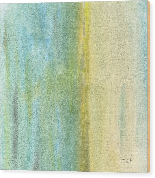 Earthbound Wood Print