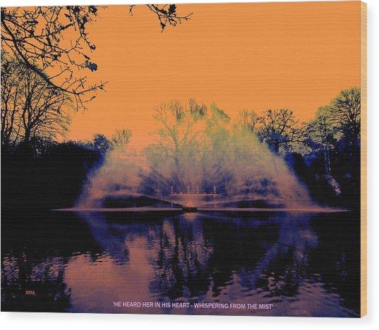Edit This 14 - Mist Wood Print