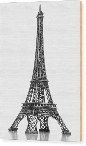 Eiffel Tower Wood Print by Jamesmcq24