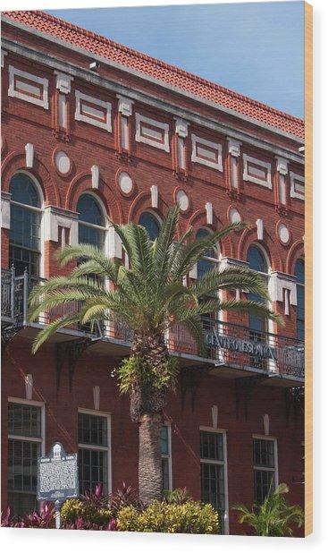 El Centro Espanol De Tampa Wood Print