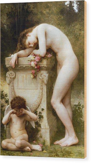 Ellergy 1899 William Bouguereau Wood Print