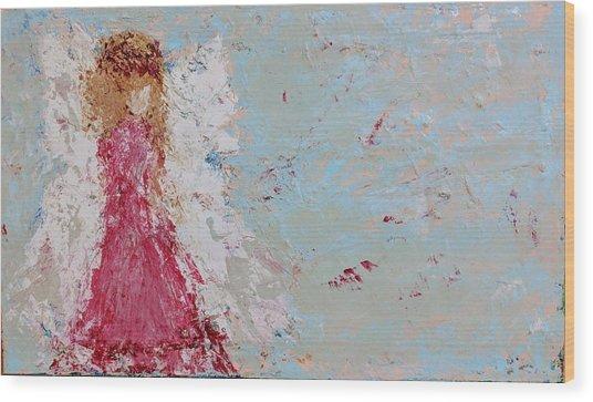 Emma's Angel Wood Print