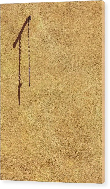 Empty Space  Wood Print