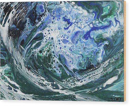 Enchanted Wave Wood Print