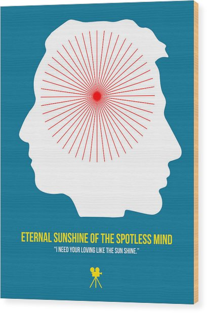 Eternal Sunshine Of The Spotless Mind Wood Print