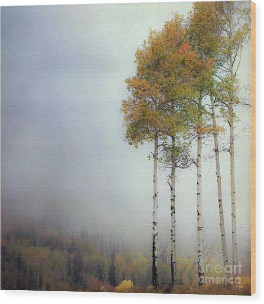 Ethereal Autumn Wood Print