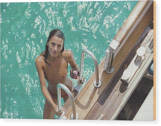Eva Maria Lopez Wood Print