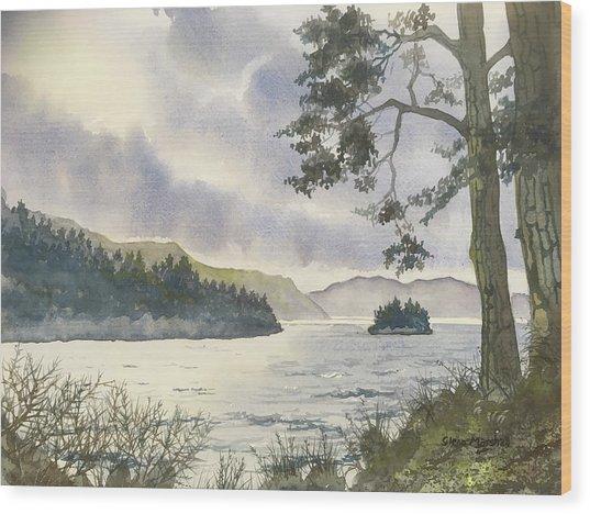 Evening On Derwentwater Wood Print