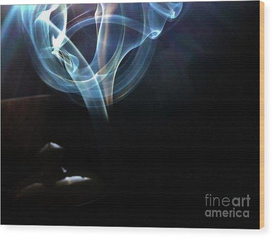 Wood Print featuring the photograph Eye by Atousa Raissyan