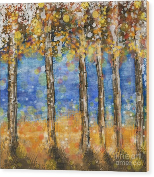 Feng Shui Your Life - The Wind In The Silo Wood Print by Remy Francis