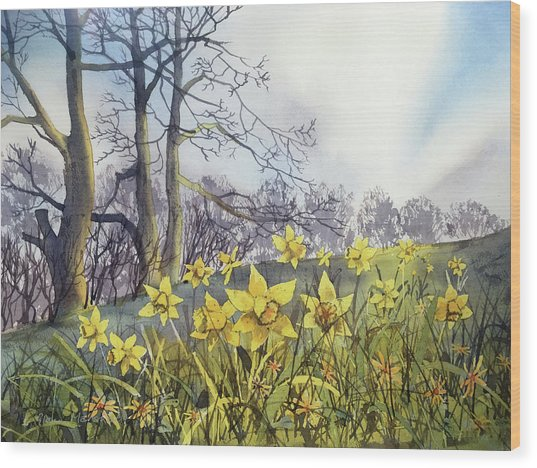 Field Of Hope At Burton Agnes Wood Print