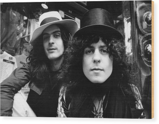 Finn And Bolan Wood Print