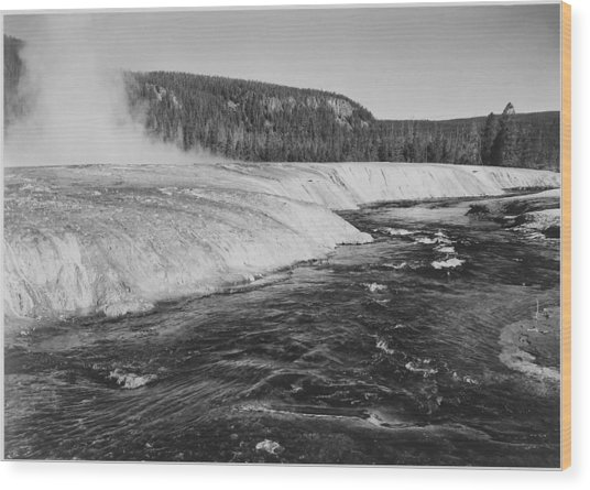 Firehole River, Yellowstone National Wood Print by Buyenlarge